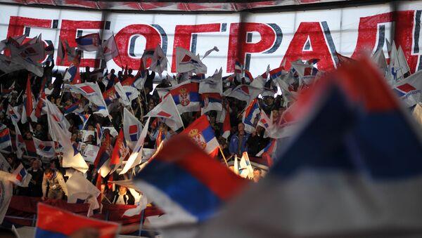 Predizborna kampanja SNS-a u Beogradu - Sputnik Srbija