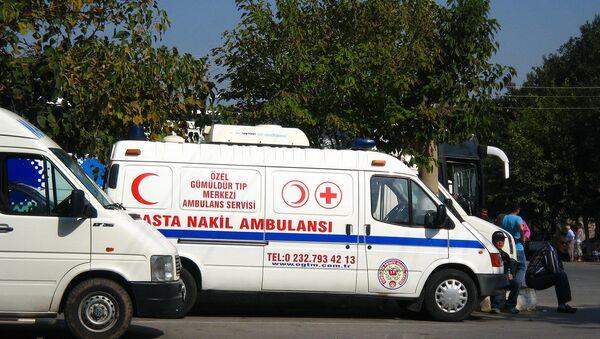 Turska ambulantna kola - Sputnik Srbija