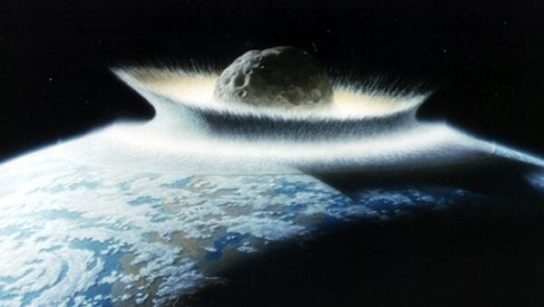 Asteroid koji je ubio dinosauruse. - Sputnik Srbija