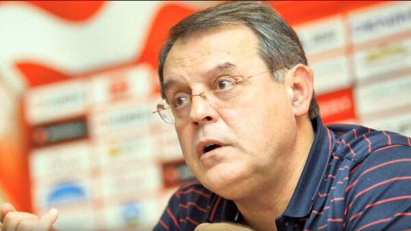 Predsednik KK Crvena zvezda dr Nebojša Čović  - Sputnik Srbija