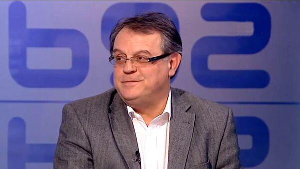Председник КК Црвена звезда др Небојша Човић - Sputnik Србија