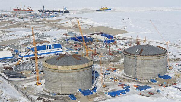 Изградња фабрике за производњу течног гаса на Јамалу - Sputnik Србија