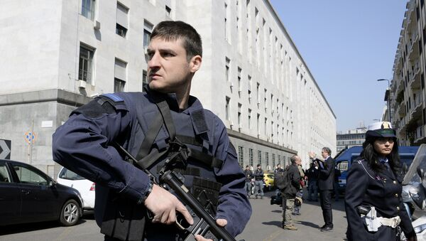 Italijanska policija - Sputnik Srbija