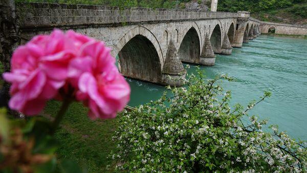 Stari most u Višegradu na Drini - Sputnik Srbija