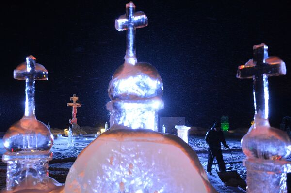 Bogojavljensko kupanje u Rusiji - Sputnik Srbija