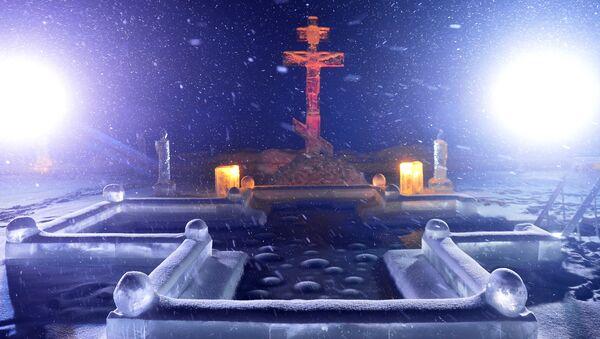 Krstionica na jednom od manastira u Republici Tatarstan, Rusija. - Sputnik Srbija