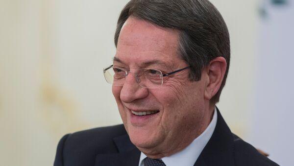 Председник Кипра Никос Анастасиадис - Sputnik Србија