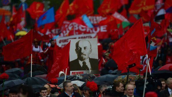 Митинг Комунистичке партије у Москви - Sputnik Србија