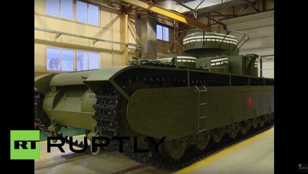 T-35 тенк - Sputnik Србија