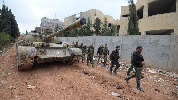 Sirijska vojska u Homsu - Sputnik Srbija