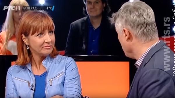 Jelena Milić i Miroslav Lazanjski - Sputnik Srbija