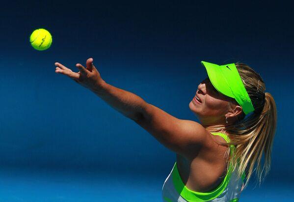 Marija Šarapova na Australijan openu 2012. godine - Sputnik Srbija