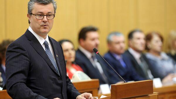 Hrvatski premijer Tihomir Orešković - Sputnik Srbija