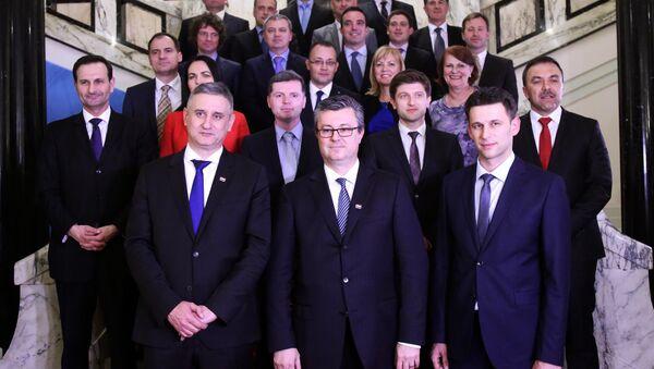 Влада Хрватске - Sputnik Србија