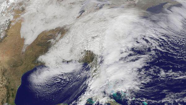 Сателитски снимак олује - Sputnik Србија