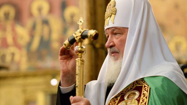 Руски патриарх Кирил - Sputnik Србија