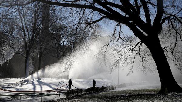 Снег у Њујорку, САД - Sputnik Србија