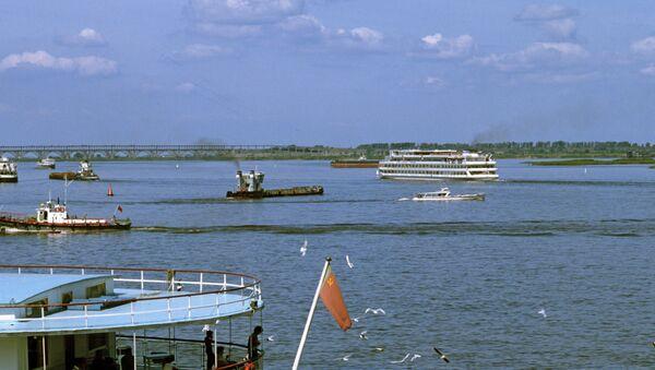 Pogled na reku Volgu - Sputnik Srbija