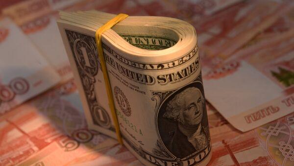 Novčanice Rusije i SAD - Sputnik Srbija