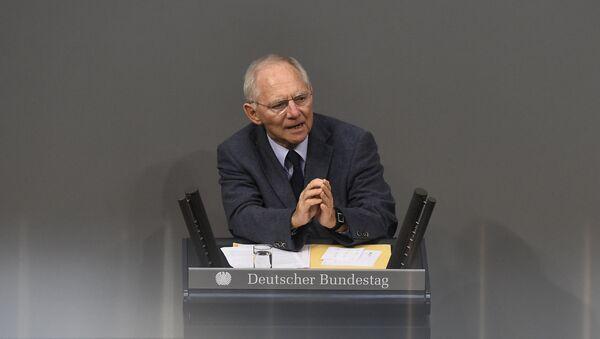 Ministar finansija Volfgang Šojble - Sputnik Srbija