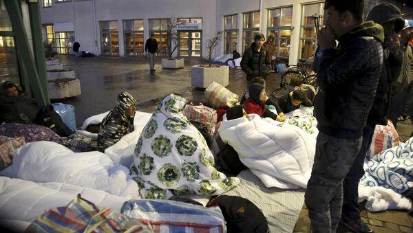 Центар за смештај избеглица у Шведској. - Sputnik Србија