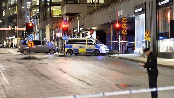 Eksplozija u Stokholmu.Policija na licu mesta - Sputnik Srbija