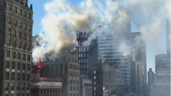 Požar, Njujork - Sputnik Srbija