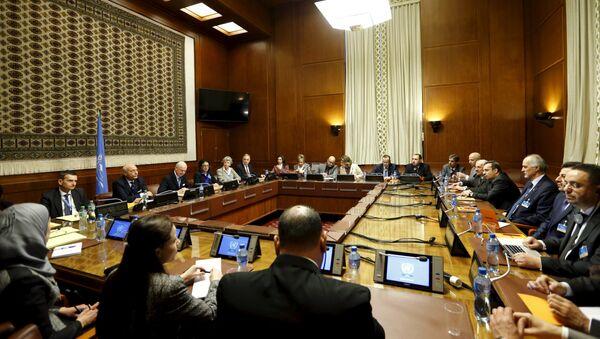 Преговори о сиријској  кризи у Женеви, Швајцарска - Sputnik Србија