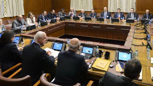 Pregovori o sirijskoj krizi u Ženevi, Švajcarska - Sputnik Srbija