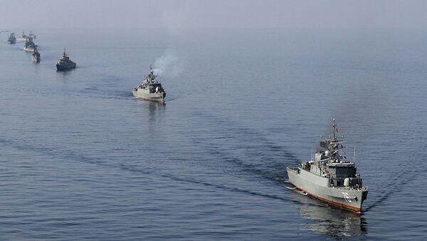 Ирански војни бродови - Sputnik Србија