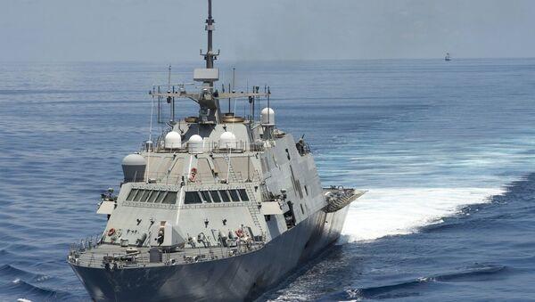 Američki vojni brod u Južno kineskom moru - Sputnik Srbija