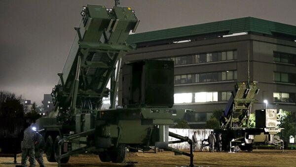 Sistemi Patriot ispred zgrade Ministarstva odbrane Japana - Sputnik Srbija