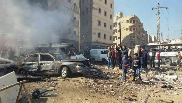Teroristički napad u Damasku - Sputnik Srbija