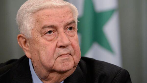 Шеф сиријске дипломатије Валид Муалем - Sputnik Србија