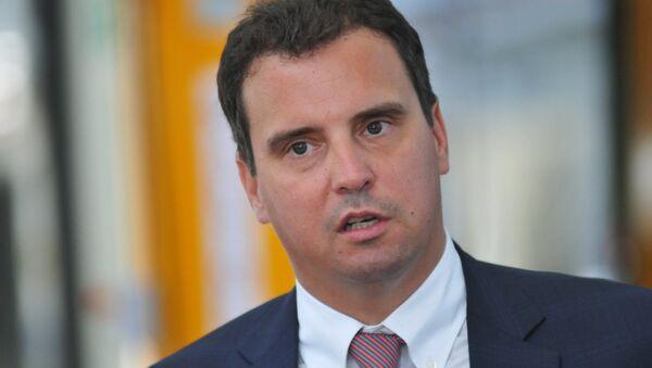 Министар економије Украјине Ајварас Абромавичус - Sputnik Србија