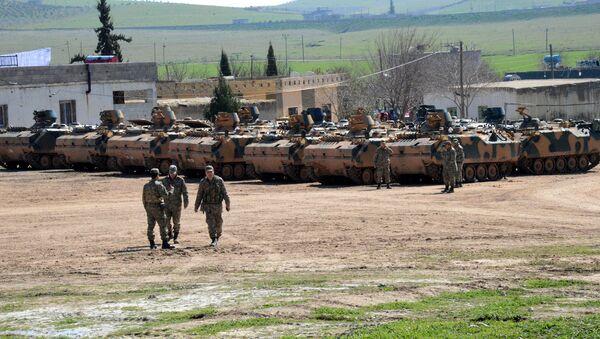 Turska vojska na sirijskoj granici - Sputnik Srbija