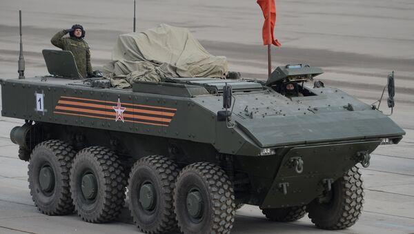 Oklopno vozilo Bumerang - Sputnik Srbija