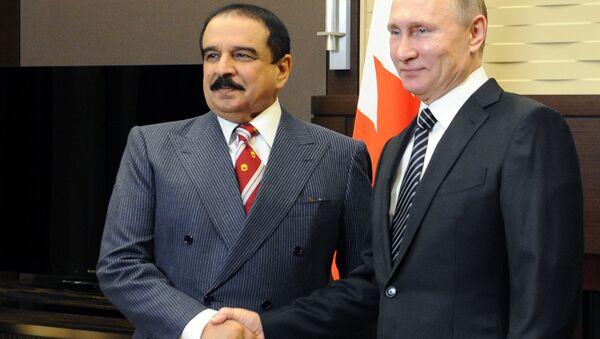 Председник Русије Владимир Путин и краљ Бахреина Хамад Бин Иса ел Калифа - Sputnik Србија