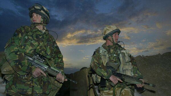 Британски војници - Sputnik Србија