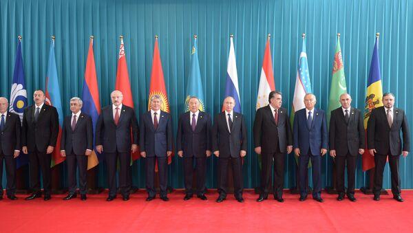 Sastanak Saveta šefova država članica ZND - Sputnik Srbija