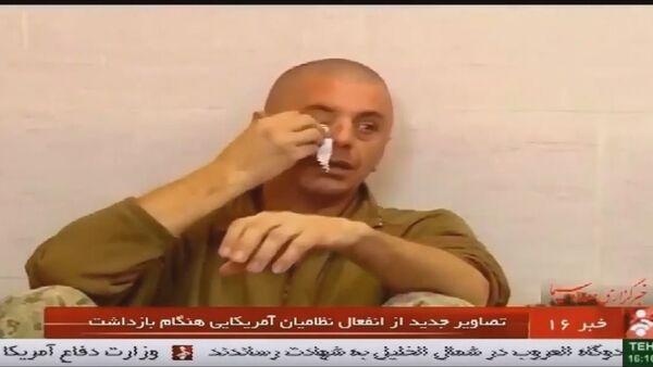 Расплакани амерички војник, Иран - Sputnik Србија