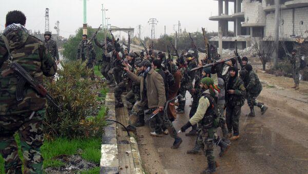 Сиријкса војска у провинцији Дара - Sputnik Србија