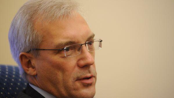 Александар Грушко, стални представнике Русије при НАТО-у - Sputnik Србија