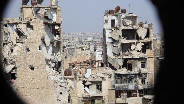 Разрушени Алеп - Sputnik Србија