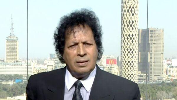 Brat pokojnog Moamera Gadafija Ahmed Gadafi - Sputnik Srbija