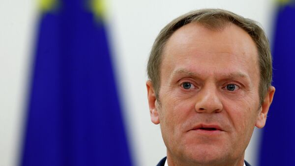 Председник Европског савета Доналд Туск - Sputnik Србија