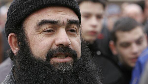 Имад ал-Хусин познатији као Абу Хамза у Зеници. - Sputnik Србија