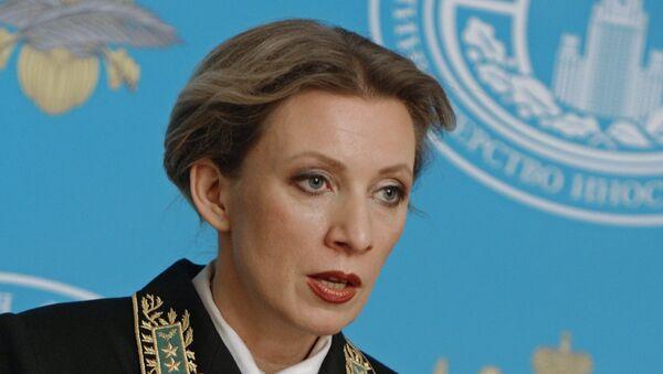 Portparol Ministarstva spoljnih poslova Marija Zaharova - Sputnik Srbija
