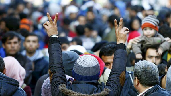 Мигранти из Сирије - Sputnik Србија