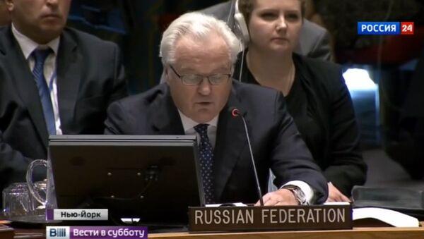 Vitalij Čurkin - stalni predstavnik predstavnik Rusije u UN - Sputnik Srbija